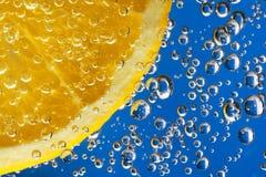 l'eau de citron Images stock