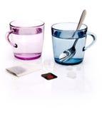 L'eau de couleur Image libre de droits