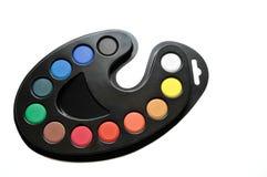 l'eau de couleurs Images stock