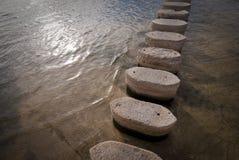 l'eau de croisement Photo libre de droits