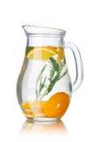 L'eau de Detox avec l'estragon Images libres de droits