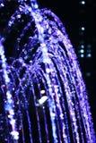 l'eau de fontaine d'automne Photos libres de droits