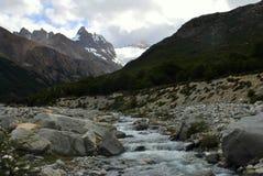 L'eau de fonte de glace Photos libres de droits
