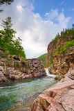 L'eau de forêt Photo stock