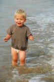 l'eau de garçon Photographie stock libre de droits