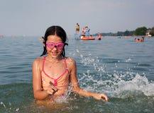 l'eau de joie Photo libre de droits