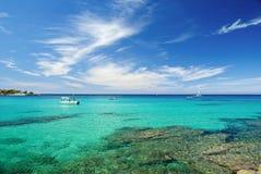 l'eau de la Corse France Photos libres de droits