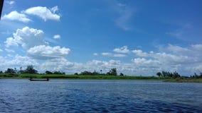 L'eau de la rivière s Photographie stock