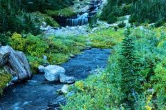 L'eau de montagne photo libre de droits