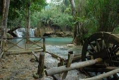 l'eau de moulin Image stock