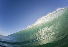 L'eau de natation de vague Photo libre de droits