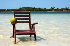 l'eau de noix de coco Images libres de droits