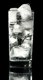 l'eau de pétillement Image stock