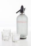 L'eau de pétillement régénératrice faite maison Photographie stock