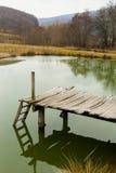 L'eau de paysage Photos stock