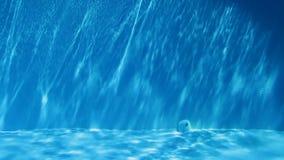 L'eau de piscine banque de vidéos
