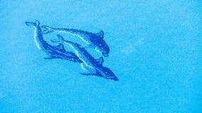 Fond de l 39 eau de piscine vert photo stock image 53987240 - Frise piscine autocollante ...