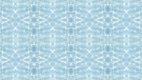 L'eau de piscine de vague de texture Photographie stock libre de droits