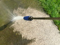 l'eau de pouvoir Photo libre de droits