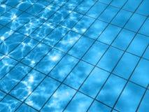 l'eau de regroupement de configuration Photos libres de droits