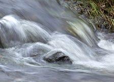 L'eau de ruisseau montante en cascade photos libres de droits
