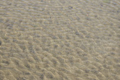 L'eau de Sandy Photos libres de droits