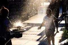 L'eau de scintillement photographie stock libre de droits