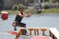L'eau de ski Photo libre de droits