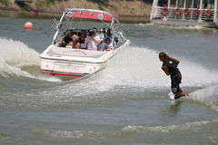 L'eau de ski Image libre de droits
