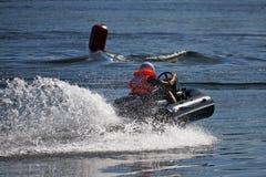 l'eau de sport de moteur photographie stock libre de droits
