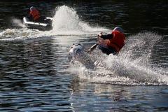 l'eau de sport de moteur Photos stock