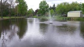 L'eau de tir Photo libre de droits