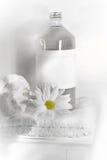 L'eau de toile sur l'essuie-main images libres de droits