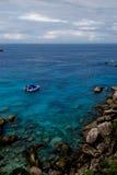 L'eau de turquoise Image libre de droits