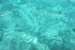 L'eau de turquoise Images libres de droits
