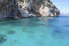 L'eau de turquoise Photos libres de droits
