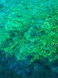 L'eau de turquoise de Crystal Clear images libres de droits