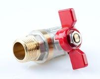 L'eau de valve Photo libre de droits