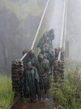 L'eau de Victoria Falls Images stock