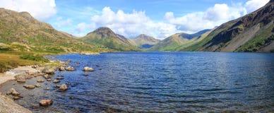 L'eau de Wast, secteur de lac, R-U, Angleterre Images libres de droits