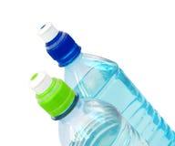 l'eau des bouteilles deux Photo stock