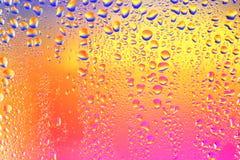 L'eau Drops-4 Photos stock