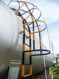 L'eau du feu d'approvisionnement de réservoir d'eau (capsule) Photos libres de droits