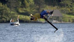 L'eau du monde Ski Show Tournament - Huntsville, Ontario, Canada le 8 septembre 2018 Photo libre de droits