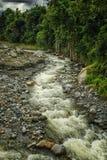 L'eau du mont Kinabalu Photos stock