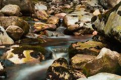 L'eau en baisse dans un domaine de Boulder image stock