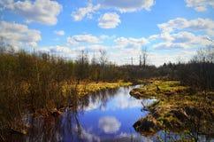 L'eau en rivière Image stock