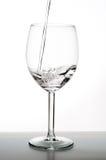 l'eau en verre Photo libre de droits