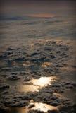 L'eau et ciel Photo libre de droits