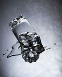 L'eau et glace Images stock
